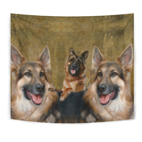 Amazing German Shepherd Print Tapestry