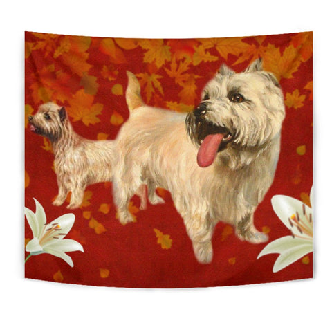 Cairn Terrier Print Tapestry
