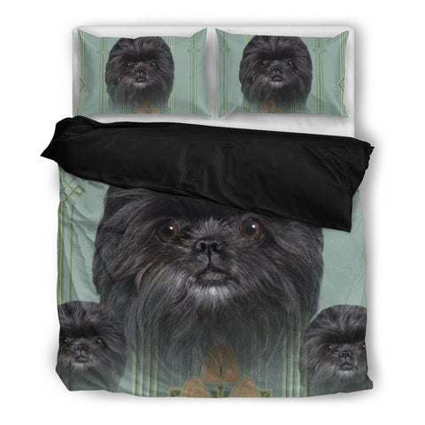 Affenpinscher Print Bedding Set