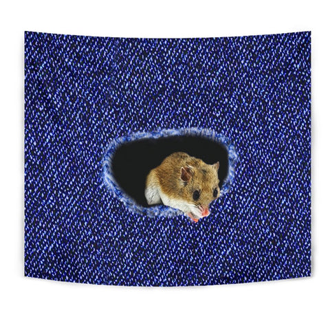 Amazing Chinese Hamster Print Tapestry
