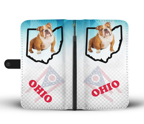 Bulldog Print Wallet CaseOH State