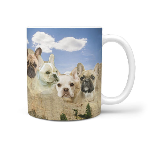 French Bulldog Print 360 Mug