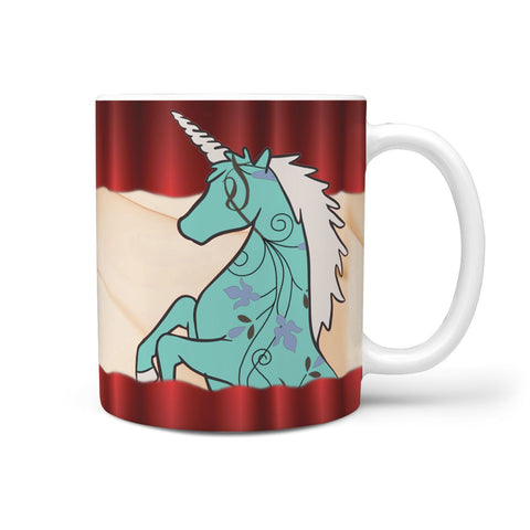 Amazing Unicorn Print 360 White Mug