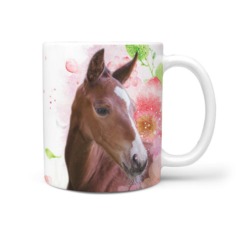 Irish Sport Horse Print 360 White Mug