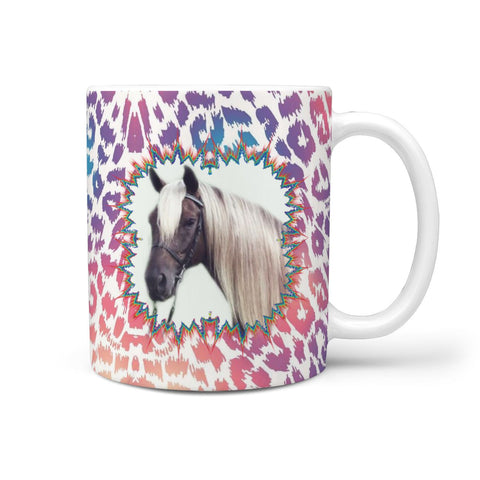 Kentucky Mountain Saddle Horse Print 360 White Mug