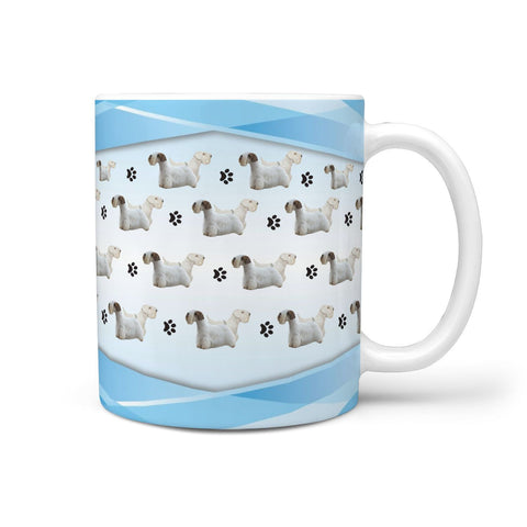 Sealyham Terrier Print 360 White Mug