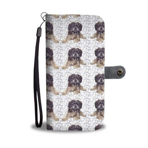 Affenpinscher Patterns Print Wallet Case
