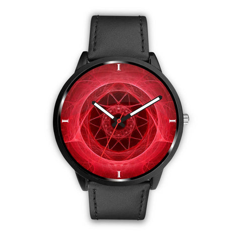 Abstract Design Print Wrist Watch