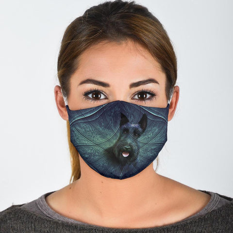 Amazing Scottish Terrier Print Face Mask