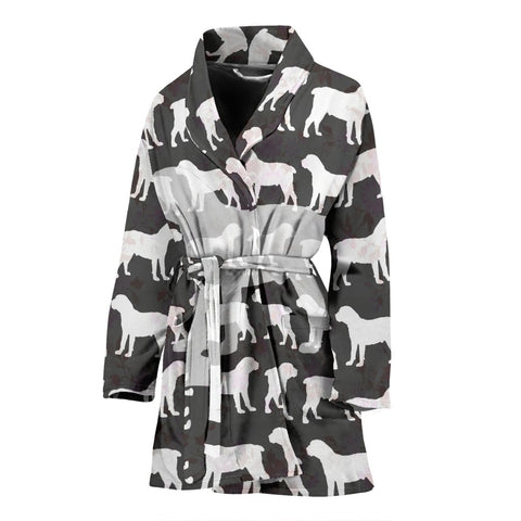 Boerboel Dog Pattern Print Women's Bath Robe
