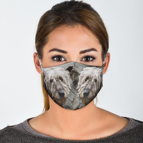 Amazing Irish Wolfhound Print Face Mask