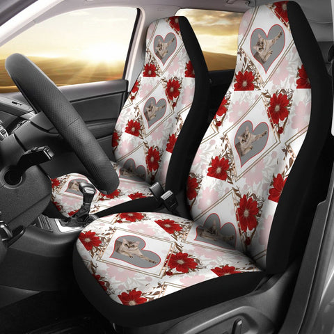 Singapura Cat Patterns Print Car Seat Covers