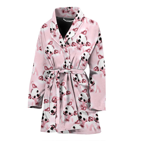 Amazing Chihuahua Patterns Print Women's Bath Robe