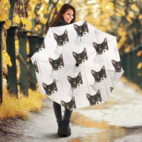 Cats Patterns Print Umbrellas
