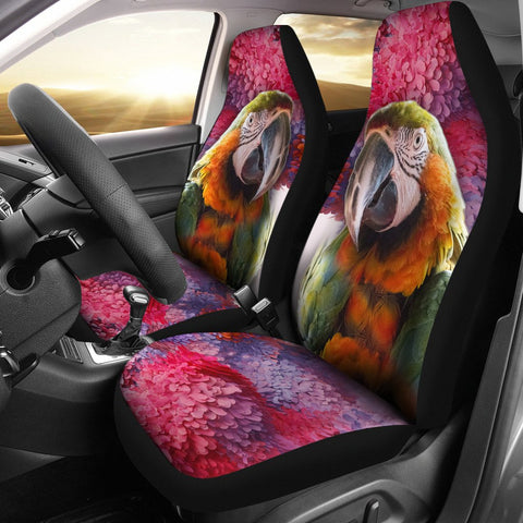 Lovely Catalina Macaw Print Car Seat Covers