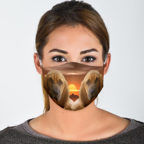 Bloodhound Print Face Mask-Limited Edition