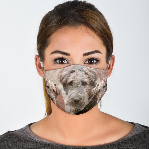Amazing Airedale Terrier Print Face Mask