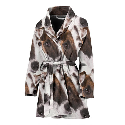 Smooth Fox Terrier Women's Bath Robe