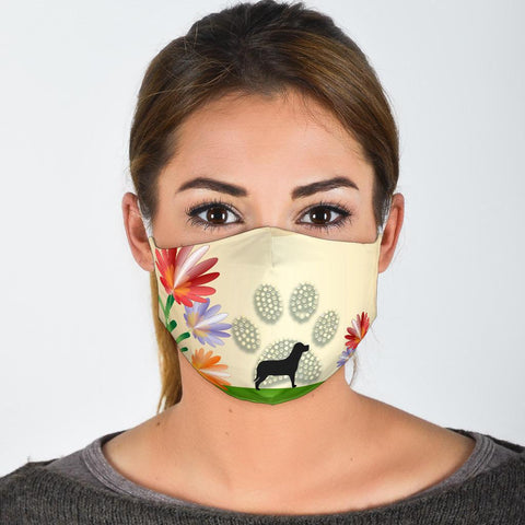 Dog Paws Print Face Mask