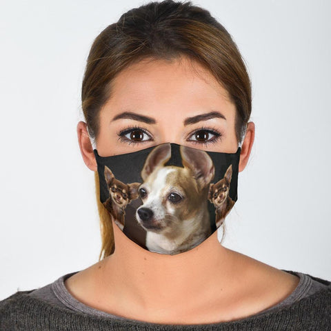 Lovely Chihuahua Print Face Mask