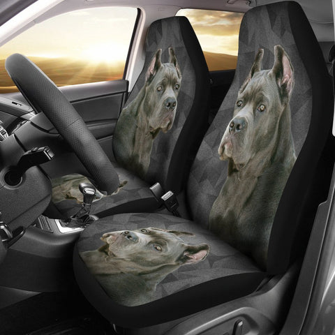 Cane Corso Print Car Seat Covers