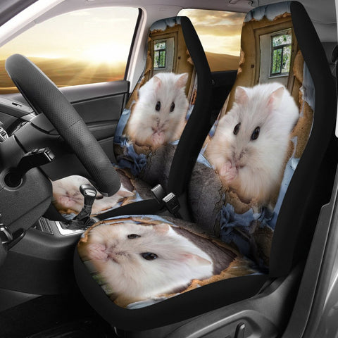Chinese Hamster Print Car Seat Covers