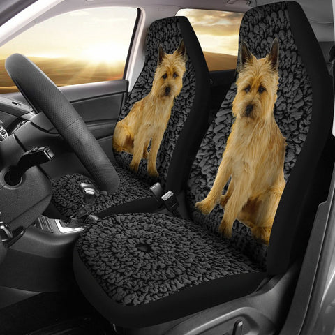 Cairn Terrier Print Car Seat Covers