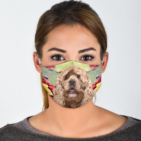 Cocker Spaniel Print Face Mask-Limited Edition