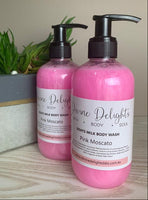 pink moscato body wash