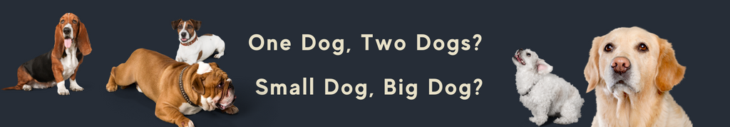 Single and Double Custom Dog Crate Sizes