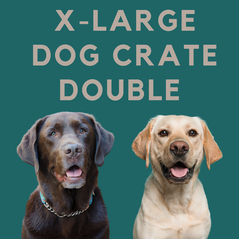 XL Double Dog Crate for Sale