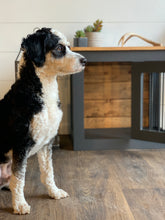 Load image into Gallery viewer, custom dog kennel furniture dallas