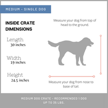 Load image into Gallery viewer, Medium Dog Crate furniture for sale