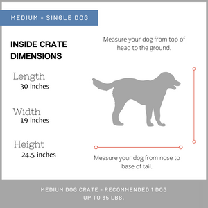 Medium Dog Crate furniture for sale