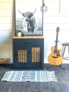 modern dog crate with drawer dallas