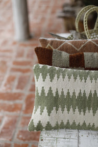 Wool Tapestry Cushion
