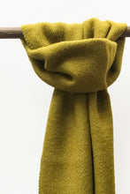 Load image into Gallery viewer, Shiny Mustard llama and sheep wool scarf
