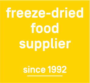 freeze-dried food supplier since 1992