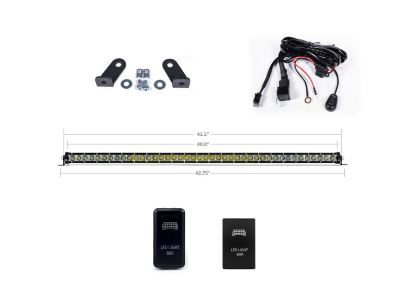 Cali Raised Prinsu Light Bar Kit