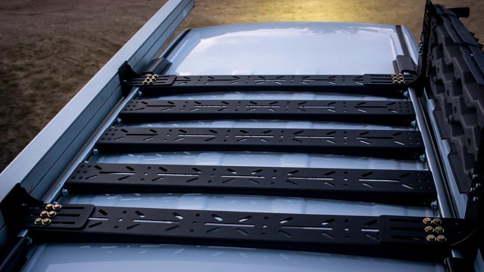 Rago Fabrication 5th Gen 4Runner Modular Factory Rail Support System (2014-2021)