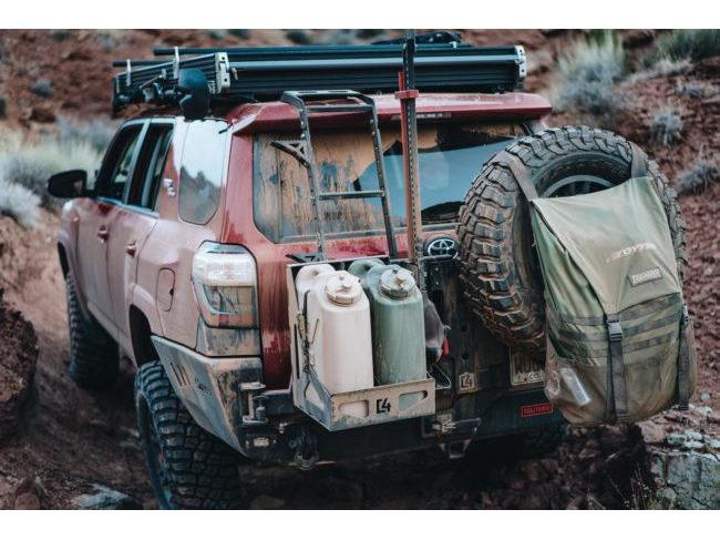 C4 Fabrication Dual Jerry Can Carrier