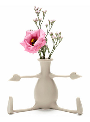 Friendly Flower Vase