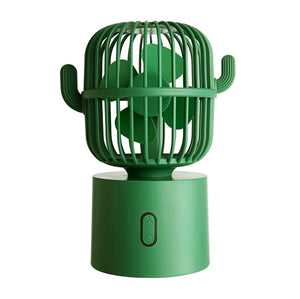 Cactus Shaped Desk Fan