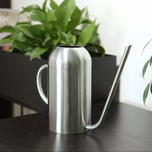 Tall Stainless Steel Watering Can