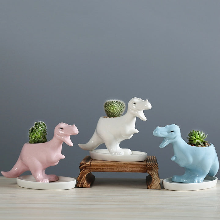 t rex planters for succulents