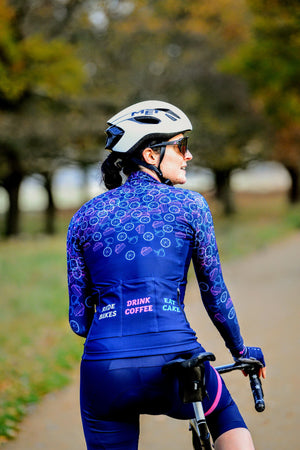 Vibe Women's Long Sleeve Thermal Cycling Jersey (PRE-ORDER ONLY)