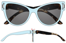 Load image into Gallery viewer, The Tiffany (Baby Blue & Blush Havana)