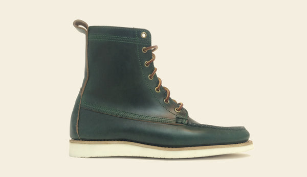 Tavern Boot Green - Size 9