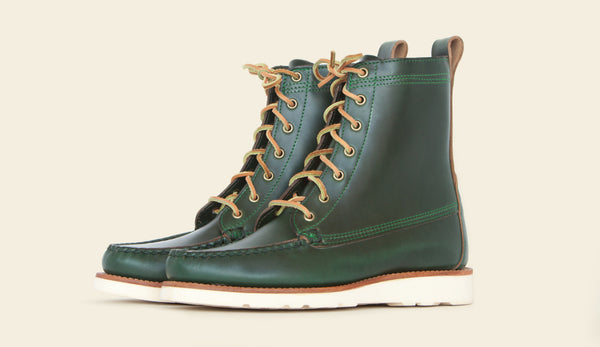 Tavern Boot - Green - Size 11.5