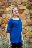 Copacetic Tunic- Teal